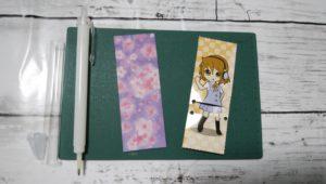 セリアオリジナルシャープペン折り紙台紙