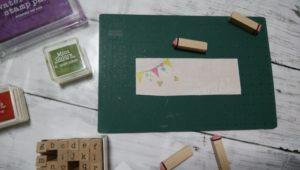 セリアオリジナルシャープペン台紙作り方