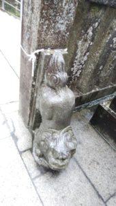 伊奈波神社狛犬