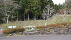 株杉の森入り口